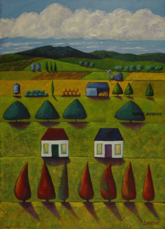 The Shared Farm images 74x56cm